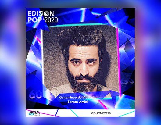 Laat me toe genomineerd voor een edison award beste videoclip 2020